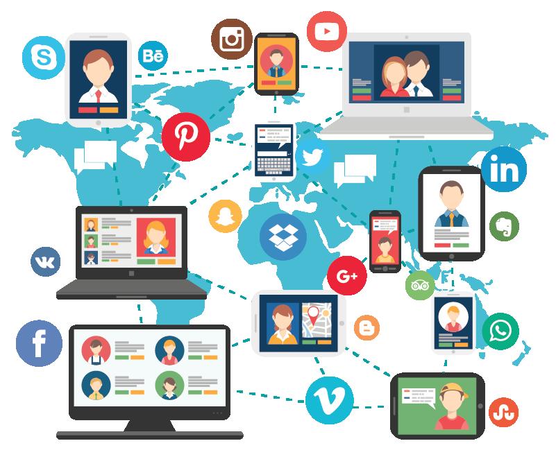 redes sociales - neuro media