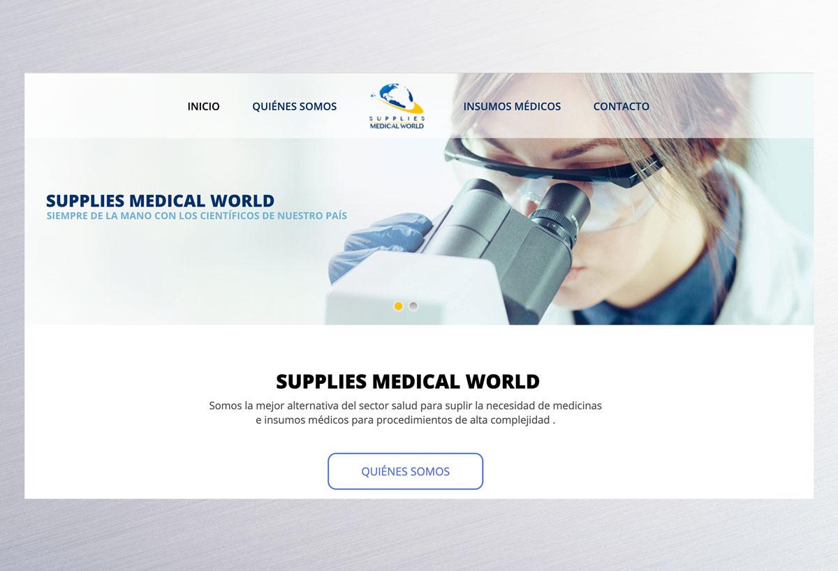 Página web supplies medical world